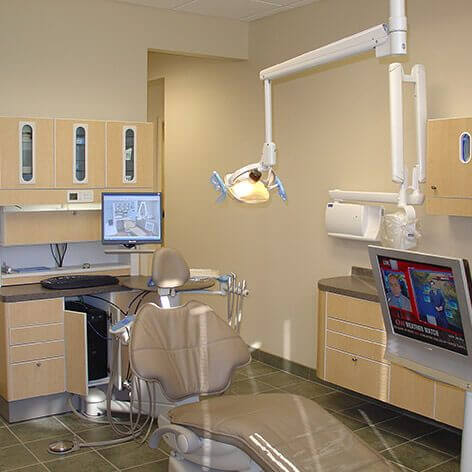 Dental Operation Room - Brier Creek Family Dentistry Raleigh, NC 27617